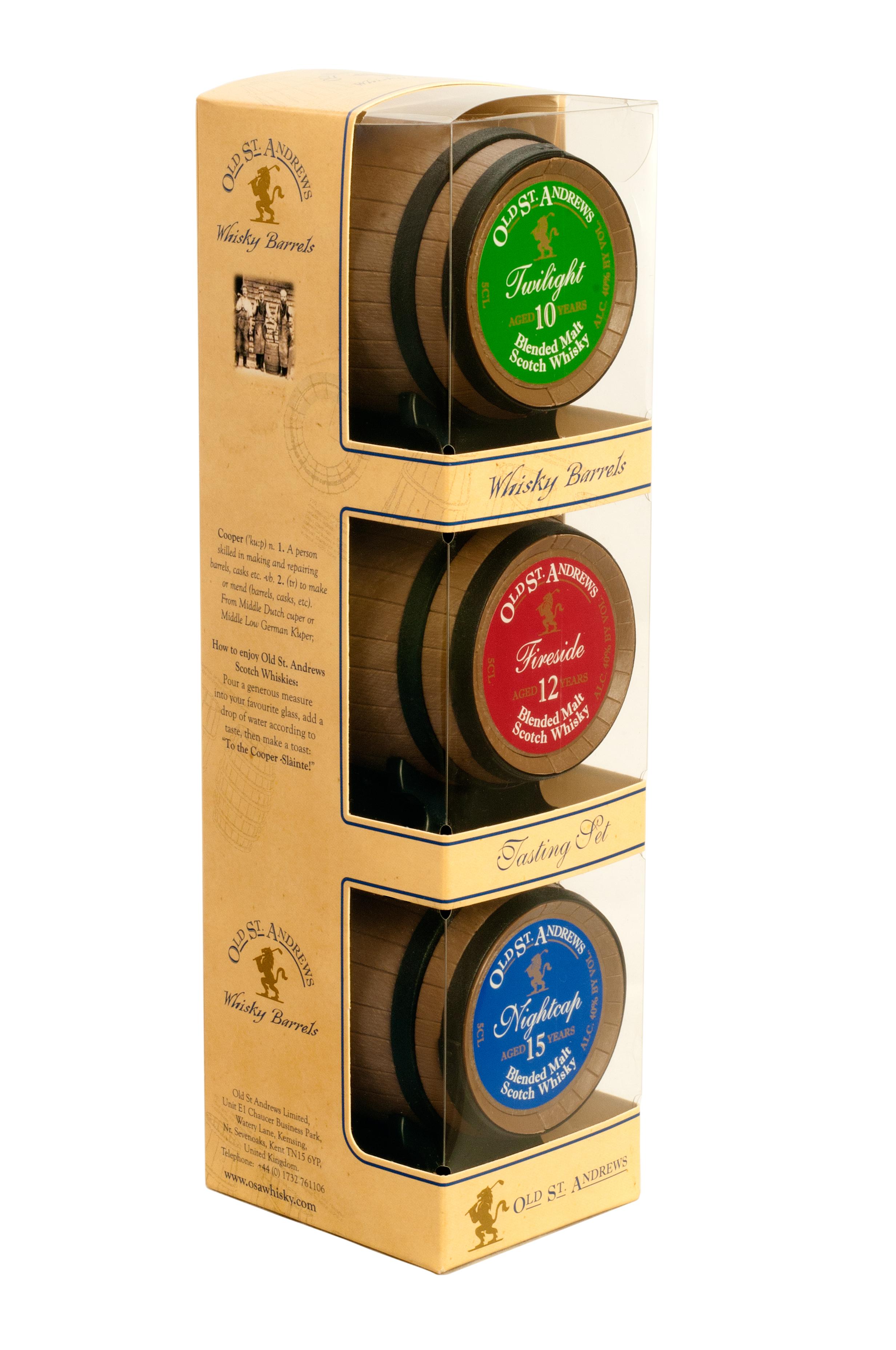 OSA 3-Barrel Tasting Set Right iew