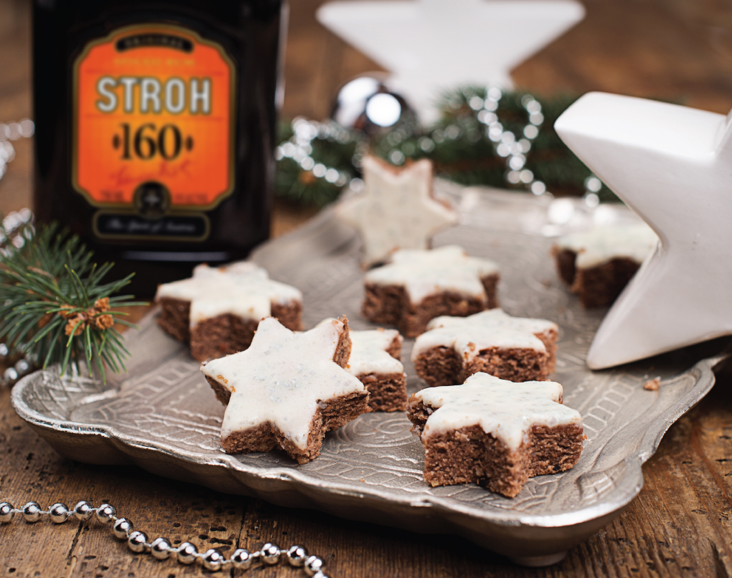 These Stroh Rum Stars are sure to impress your guests. #Stroh160