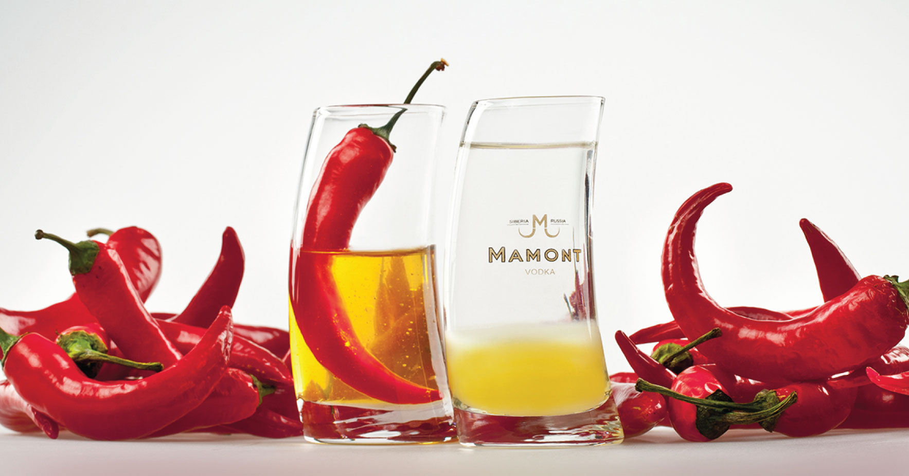 Choose adventure with Mamont Vodka shots #ChooseAdventure